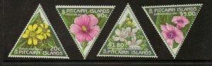 PITCAIRN ISLANDS SG535/8 1998 FLOWERS MNH