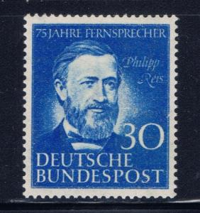 Germany 693 hinged 1952 issue