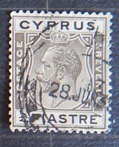Cyprus, 1925, King George V, 3.4 PIASTRE, SG #119 (1726-т)