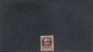 GERMANY-BAVARIA 168 USED 2019 SCOTT CATALOGUE VALUE $20.00