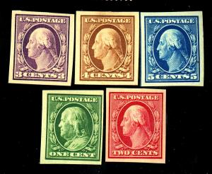 343-7 MINT VF OG LH/HR #344 NH Cat $64