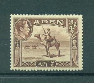 Aden sc# 17 mhr cat value $2.50
