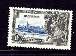 Barbados 187 MH 1935 KGV Silver Jubilee