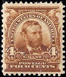 303 Mint,OG,XLH... SCV $60.00... Dark Brown