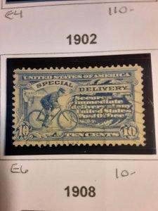 United States #E6                 Used