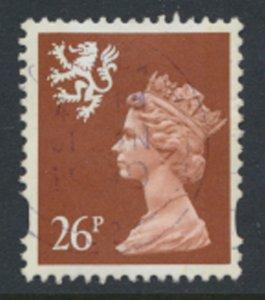 Scotland SC# SMH66 Machin 16p 1996 Litho 2 Bands SG S85 Used as per scan