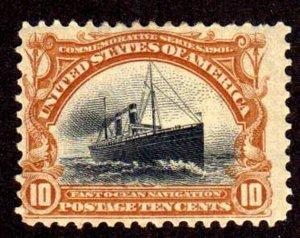 MALACK 299 Fine+ OG H, fresh color, nice stamp w3808