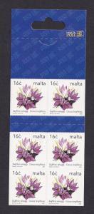Malta   #1140a   MNH  2003  booklet  6 x 16c