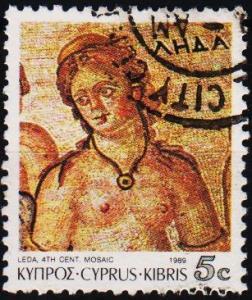 Cyprus. 1989 5c S.G.760 Fine Used