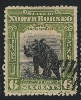 North Borneo Sc#142 Used