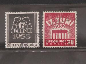 Germany, Scott# 9N99-100, used