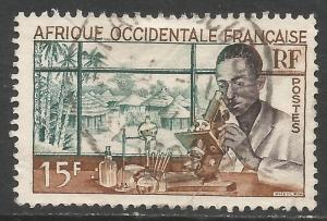FRENCH WEST AFRICA 59 VFU M677