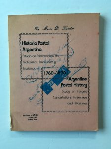 1760-1870 Argentine Postal History - Forged cancellations. Mario Kurchan 1976