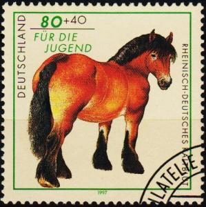 Germany. 1997 80pf+40pf S.G.2774 Fine Used