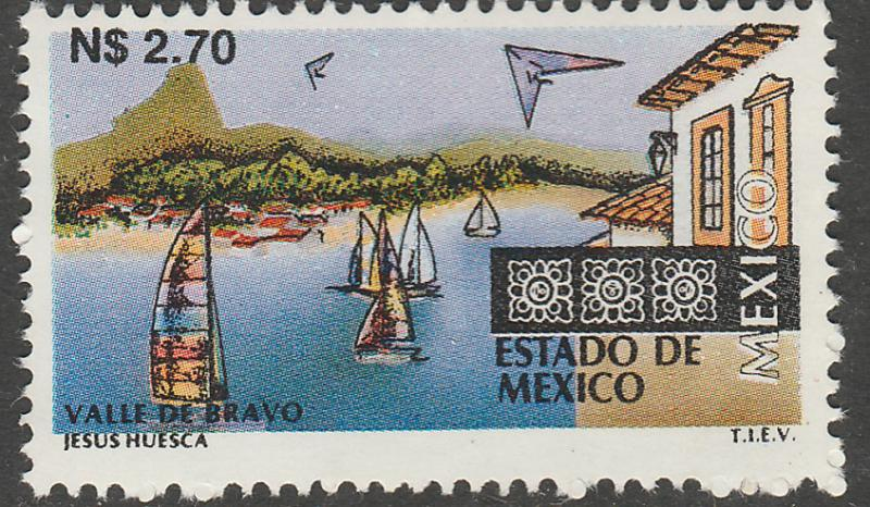 MEXICO 1797, N$2.70 Tourism Mexico, Valle de Bravo. Mint, Never Hinged F-VF.