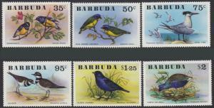 STAMP STATION PERTH Barbuda #238-243 SG262-267 Mi261-266 MNH Birds Oiseaux Vogel