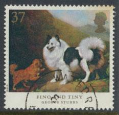 Great Britain SG 1535  Spacefiller   - Dogs George Stubbs Painting