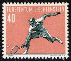 Liechtenstein Stamp 1958 Sport MH/OG STAMP  40 RP