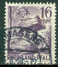Germany - French Occupation - Rhine Palatinate - Scott 6N22