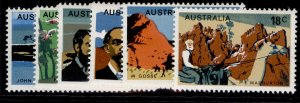 AUSTRALIA QEII SG616-621, 1976 19th century explorers set, NH MINT.