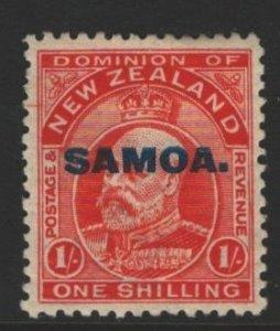 Samoa Sc#119 MH - pencil on reverse