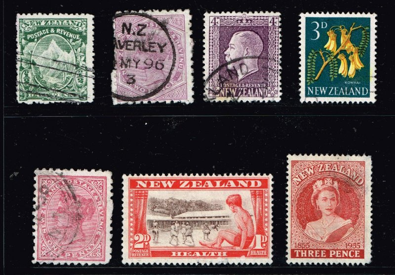 NEW ZEALAND STAMP USED AND MINT STAMPS LOT