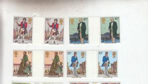 1979 ROWLAND HILL GUTTER PAIRS UMM/MNH SG1095-SG1098