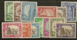 Aden 1939 Definitives Mint Cat£120