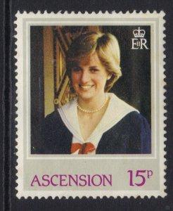 Ascension Island 1982 QE2 15p Princess Diana MM SG 323 ( J1013 )
