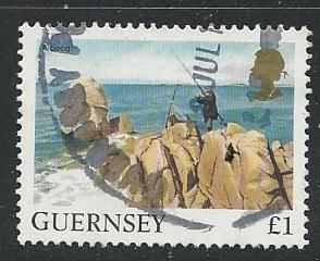 Guernsey | Scott # 301 - Used