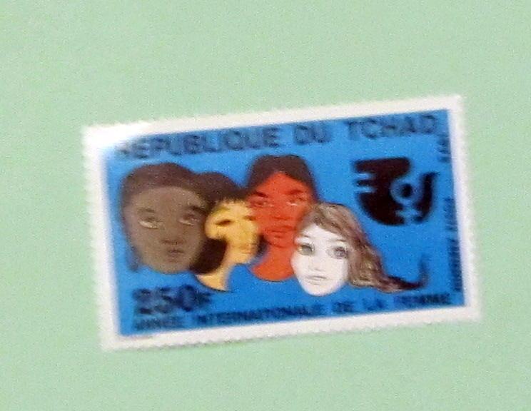 Chad - C165, MNH Comp. Int. Woman's Year. SCV - $4.50
