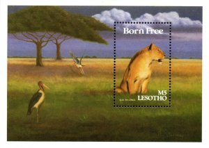 Lesotho - 1991 Famous Films with African Themes Set & MS MNH** SG 1007-1014