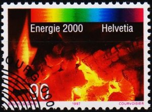 Switzerland. 1997 90c. S.G.1358  Fine Used