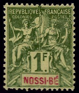 Nossi Be Sc #44 Mint VF...French Colonies are in Demand!