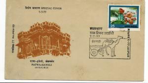 India - 1977- spacial cover - jpex-77 jaipur