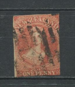 New Zealand 1862 Sc 11 Used CV  $250