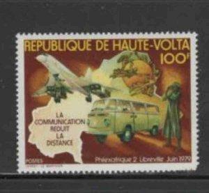 BURKINA FASO #497 1979 TRUCK & UPU EMBLEM MINT VF NH O.G