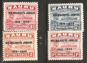 Nauru SC 31-4 Mint, Never Hinged