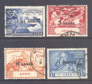 Aden Scott 32/35 - SG32/35, 1949 UPU Set used