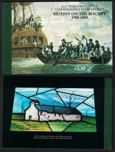 Isle of Man Bicentenary of the Munity on the Bounty Booklet SG#SB20