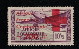 French Equatorial Africa # CB 6  M  SCV $ 210.00