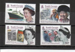 South Georgia 539-542 MNH