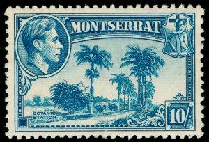 MONTSERRAT SG111, 10s pale blue, LH MINT. Cat £22.