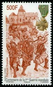 HERRICKSTAMP NEW ISSUES FRENCH POLYNESIA 100 Years World War I