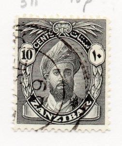 Zanzibar 1926 Early Issue Fine Used 10c. 167864