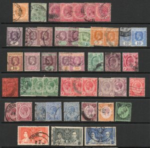 Straits Settlements - Group of (45) / Shades, paper etc.. - Lot 0619073