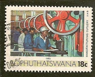 South Africa--Bophuthatswana  Scott 153   Cutlery   Used