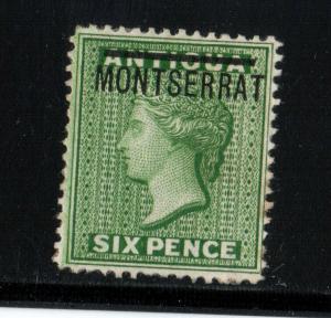 Montserrat #2 VF Mint