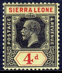 Sierra Leone - Scott #128 - MH - SCV $2.00