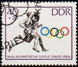 Germany(DDR). 1964 40pf +20pf S.G.E758 Fine Used